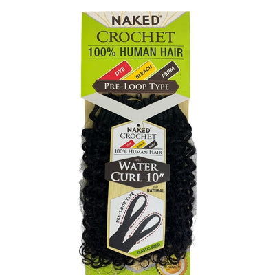 Shake-N-Go Naked Pre-Loop Type Human Hair Crochet Braids - Water Curl