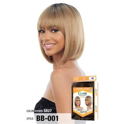 Model Model Clair Human Hair Blend Wig – BB-001