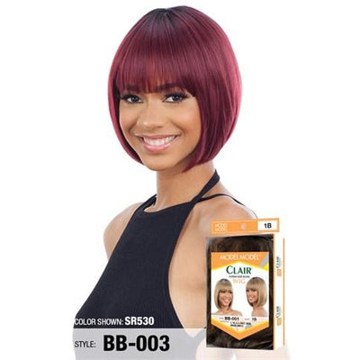 Model Model Clair Human Hair Blend Wig – BB-003