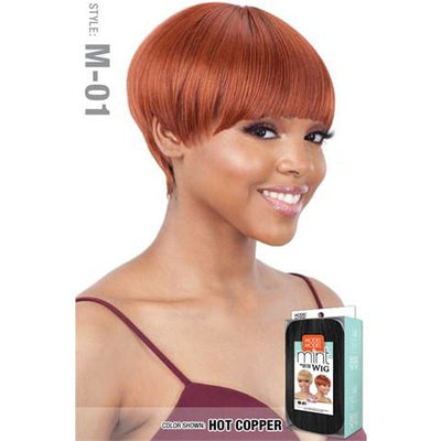 Model Model Daily Look Mint Synthetic Wig - M-01