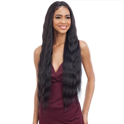 Model Model Synthetic Freedom Part Lace Front Wig – Number 010