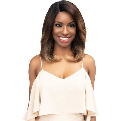 Janet Collection Natural Me Lace Front Wig - Bryah