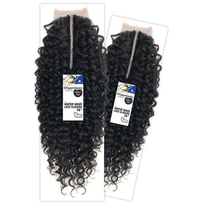 Shake-N-Go Organique Mastermix Lace Closure - Water Wave 16""
