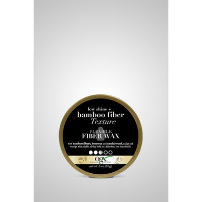 OGX Matte Finish + Bamboo Texture Flexible Fiber Wax  3 OZ