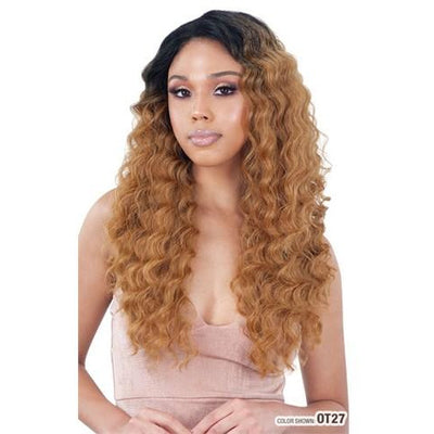 "Model Model Gardenia Mastermix One Pack Weave - Loose Deep 4 PCS (18""/20""/22"") + 4""x 4"" Full Lace Closure"
