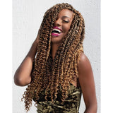 Janet Collection Nala Tress Synthetic Braid - Passion Water Wave 24""
