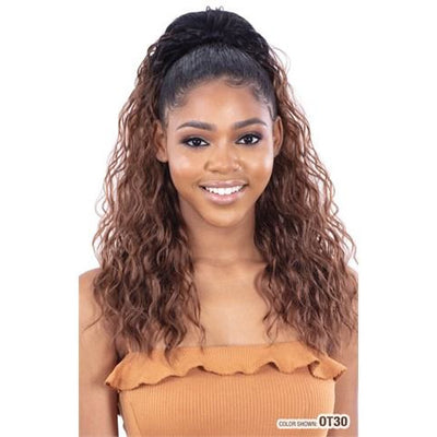 Model Model Synthetic Drawstring Ponytail - Fab Girl