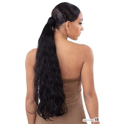Model Model Synthetic Pony Pro Quick Wrap Ponytail - Shimmer Wave 24""