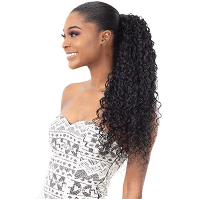 Shake-N-Go Organique Synthetic Pony Pro Express Wrap Ponytail - Mali Curl