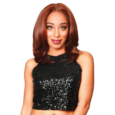 "Zury Sis Prime Human Hair Blend 13"" X 7"" HD Lace Front Wig - Ritz"
