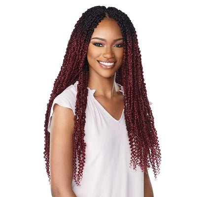 Sensationnel Lulutress Synthetic Crochet Braids - 2X Skinny Passion Twist 24""