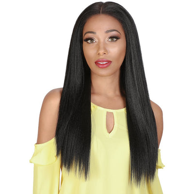 "Zury Sis 13"" x 4"" Flawless HD Synthetic Swiss Lace Front Wig - Brit"