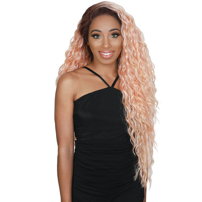 "Zury Sis 13"" x 4"" Flawless HD Synthetic Swiss Lace Front Wig - Luna"
