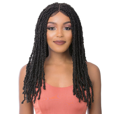 It's A Wig! Premium Synthetic Lace Front Wig - St Water Wave Twist 24""