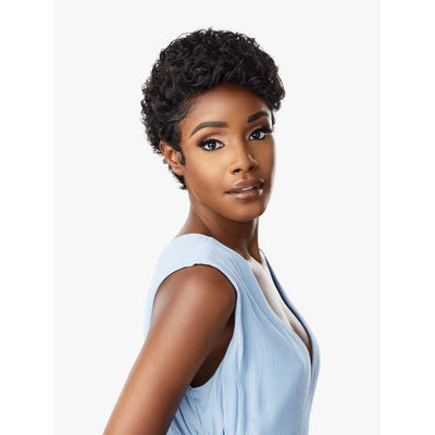 Sensationnel Synthetic Lace Front Edge Wig - Amina