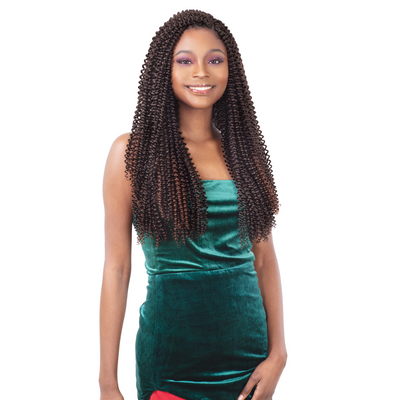 FreeTress Synthetic Crochet Braid - Sparkling Curl 18""
