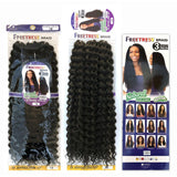 FreeTress Synthetic Crochet Braids - 3X Joyfull Curl 20""