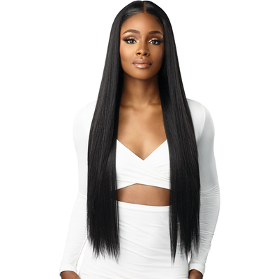 Sensationnel Human Hair Blend HD Butta Lace Front Wig - Straight 32""