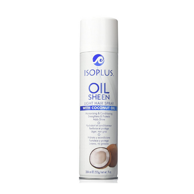 Isoplus Oil Sheen W/ Coconut Oil 9 OZ