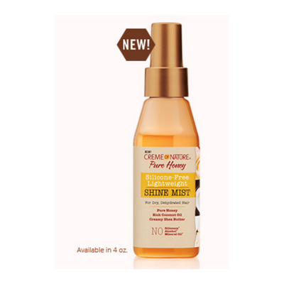Creme Of Nature Pure Honey Shine Mist 4 OZ