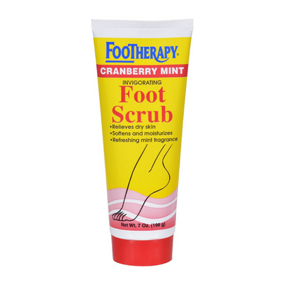 Queen Helene FooTherapy Cranberry Mint Invigorating Foot Scrub 7 OZ
