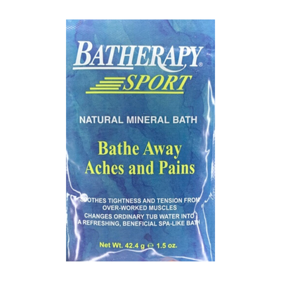 Queen Helene Batherapy Sport Natural Mineral Bath 1.5 OZ