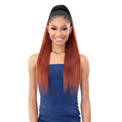 Shake-N-Go Synthetic Organique Ponytail - Yaky Straight 28""