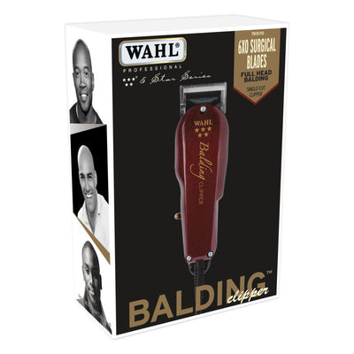 Wahl Professional 5 Star Series Balding Clipper w/ 6XO Surgical Blade #8110