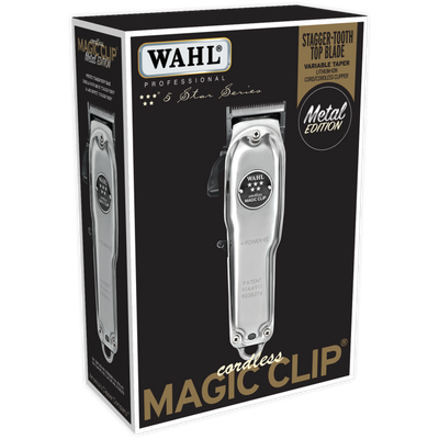 Wahl Professional 5 Star Series Cordless Magic Clip Metal Edition #8509