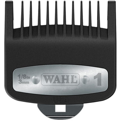 "Wahl Premium Cutting Guide w/ Metal Clip #1 (1/8"")"