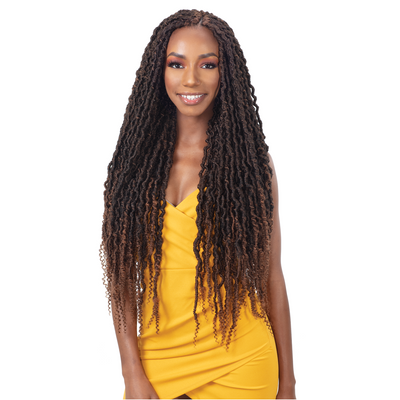 Freetress Synthetic Crochet Braids - 2X Nita Distressed Gorgeous Loc 26""