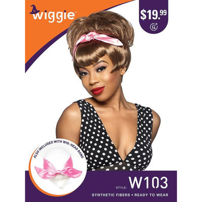 Sensationnel Wiggie Halloween Wig - W103