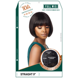 Sensationnel 100% Human Hair 10A Unprocessed Full Wig - Straight 9""