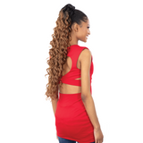 Shake-N-Go Synthetic Organique Ponytail - Deep Wave 28""