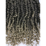 Zury Sis Naturali Star V.9.10.11 One Pack Enough Synthetic Crochet Braids - Passion Twist