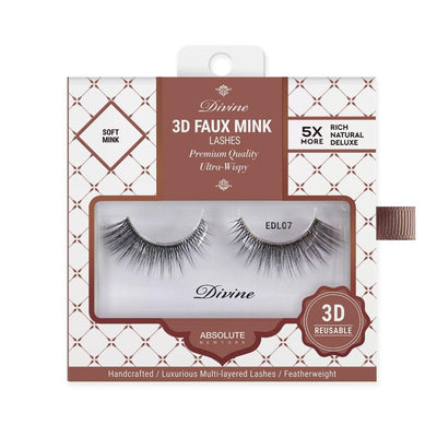 Absolute New York Divine 3D Faux Mink Lashes – EDL07 Gaia