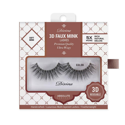 Absolute New York Divine 3D Faux Mink Lashes – EDL08 Hebe