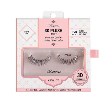 Absolute New York Divine 3D Plush Lashes – EDL01 Antheia