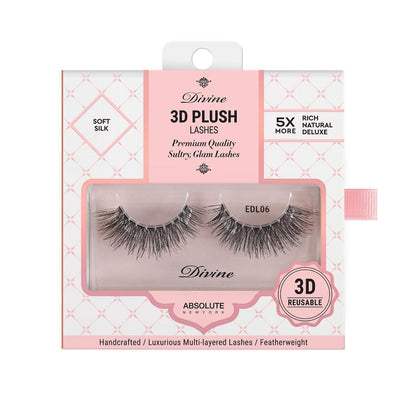 Absolute New York Divine 3D Plush Lashes – EDL06 Themis