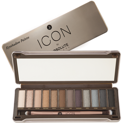 Absolute New York Icon Eye Shadow Palette - Smoked