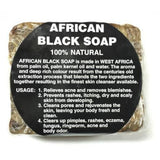 African Black Soap 100% Natural 16 OZ
