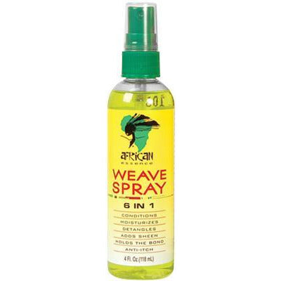 African Essence Weave Spray 6 in 1 4 OZ
