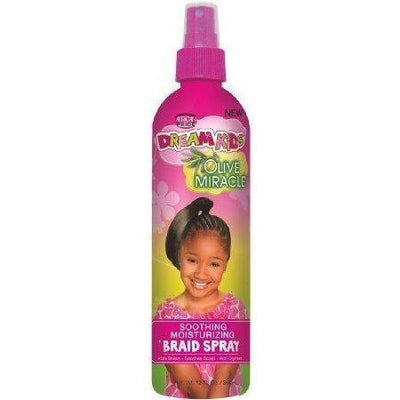 African Pride Dream Kids Olive Miracle Braid Spray 12 OZ