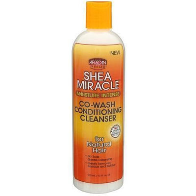 African Pride Shea Miracle Co-Wash Conditioning Cleanser 12 OZ