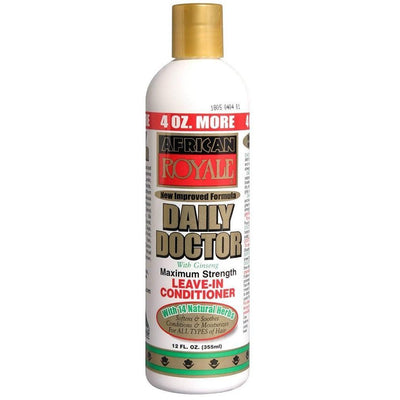 African Royale Daily Doctor Leave-In Conditioner 12 OZ