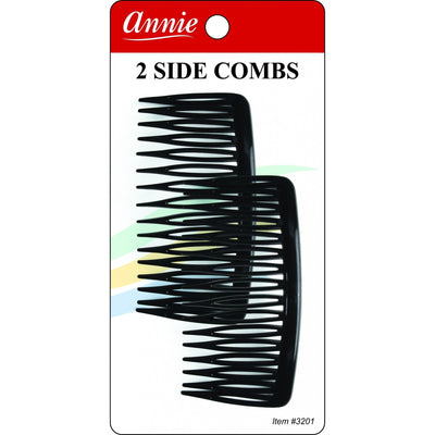 Annie Side Combs Large 2 PCS  #3201