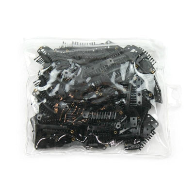 Annie Medium Wig Clips Black 100 PCS #3121