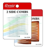 Annie Side Combs Medium 2 PCS  #3206