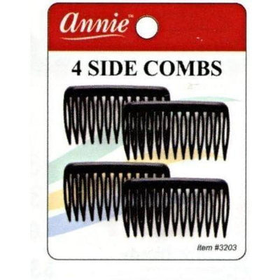 Annie Side Combs Small 4 PCS  #3203
