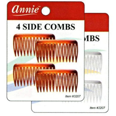 Annie Side Combs Small 4 PCS  #3207